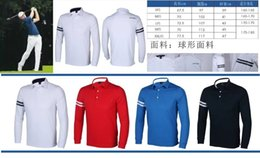 Wholesale UA golf shirts dry fast long sleeve sports shirts in colors