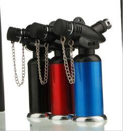 Wholesale Micro spray gun lighters Welding torch spray torch jet butane windproof lighter also offer usb arc oil lighter grinder fashion best