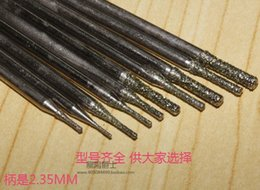 Jade pearl shell sub punch needle grinding diamond drill crystal lettering carved jade amber beeswax