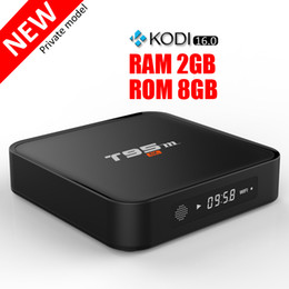 Amlogic S905X T95M Android TV Boxes fully loaded 2GB Ram 8GB Rom 2.4G WiFi Tronsmart supported Smart Media Player cheaper than T95