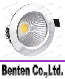 Wholesale New W Led COB Downlights Recessed lamp cool white warm white Dimmable led Ceiling bulbs light For Home Lighting Decorate With Driver LLFA1