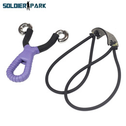 Wholesale Aluminium Alloy Folding Wrist Slingshot Adult Outdoor Hunting Catapult Bow Adjustable Game Aim Sling Shot with Rubber Band order lt no track
