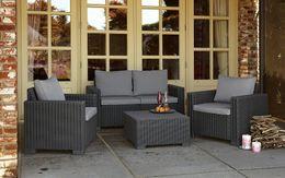 Wholesale High quality Environmental PE rattan wicker sofa set wicker furniture Garden patio furniture outdoor furniture Rattan Wick table chair sofa