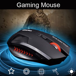 Top Quality Lithium Battery Build-in Laser Gaming Wireless Charging Mouse 2400 dpi 2.4G FPS High Performance Gamer for Computer