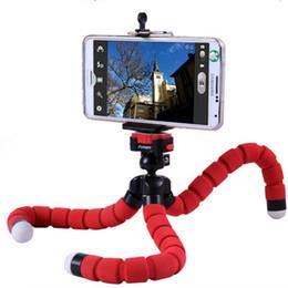 Descuento soportes de cámaras digitales Sostenedor flexible del trípode de la cámara fotográfica de Digitaces del pulpo, soporte universal de la exhibición del soporte del soporte de montaje de Gopro para los accesorios del teléfono celular, envío libre