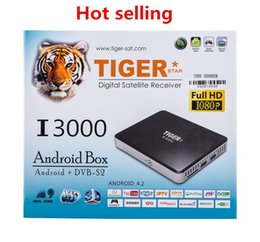 Wholesale android smart tv set top box Tiger I3000 download hindi video hd songs movie free download
