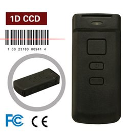 Wholesale Mini PT20 D CCD Wireless Pocket Bluetooth POS Barcode Scanner for iOS iPad iPhone Android Mobile Phone Windows