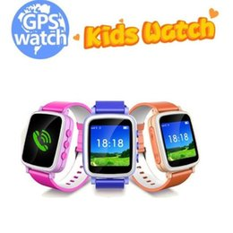 Wholesale New Kid GPS Smart Watch Q60 Wristwatch SOS Call Location Finder Locator Device Tracker for Kid Safe Anti Lost Monitor Baby Gift Q60