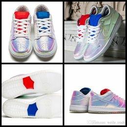 """Sb dunks à vendre-2016 Concepts x SB Dunk Low Cut """"Le Graal"""" Femmes Chaussures de course High Sneakers qualité en plein air Sportif Sportif Chaussures de sport Eur 36-39"""