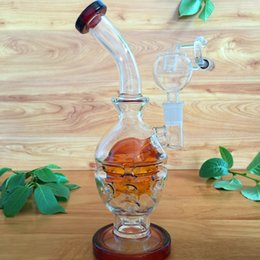 Egg rigs glass bongs Faberge Egg Glass oil rigs water pipes glass bongs with birdcage 14.5mm joint