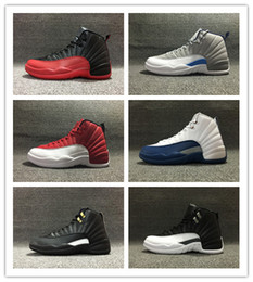 Wholesale with box 12 gym red flu game 12s master GS men basketball shoes women sports mens sneakers trainers 36-47