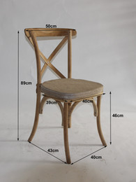 wooden cross back chair, restaurant dining chair, white, gold, silver chair for wedding, event