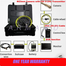 Sewer Pipe Camera Inspection System 8GB SD card 512Hz Transmitter Locator 710DNL CCTV Video Pipeline Inspection