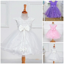 Wholesale Retail Latest style Girl s Dresses baby Girl Party Dress princess Girl Flower petal Dress kids Dress child beautiful DressTop qual
