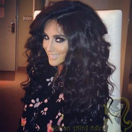 Malaysian hair full lace wig natura black color hair curly human hair wigs lace front wigs