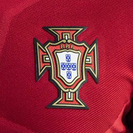 Wholesale 2016 euro cup portiugal soccer jersey patch