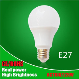 Canada Lampe LED E27 Ampoule LED B22 3W 5W 7W 9W 12W 15W 110V 220V Real Watt SMD2835 Lumières LED Bright Bright Bright e27 smd ce promotion Offre