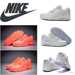 Wholesale New NNIKE WMNS Air Max Basketball Shoes orange white womens hyperfuse running shoes foam eve best quanlity