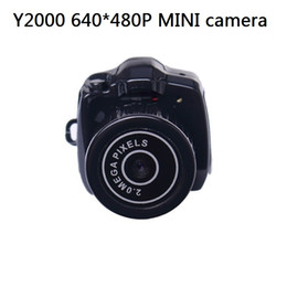 Free shipping Y2000 the smallest Mini HD Video Camera with drop shipping with retail box