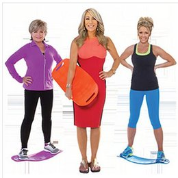 Wholesale 15pcs Core Workout Board Simply Fit by Lori Greiner Exercise Healthy Perfect Gift with CD and WOrkout Guid F770