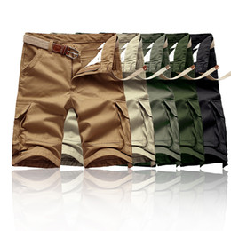 Male Camouflage capris pants male trousers spring and summer capris plus size casual pants sports knee length trousers for men spring summer