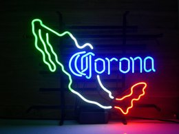 New Corona Extra Mexico Real Glass Neon Light Sign Home Beer Bar Pub Recreation Room Game Room Windows Garage Wall Sign