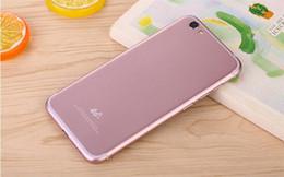 iphone7 GooPhone i7 dual sim téléphones mobiles 4G téléphone intelligent à double carte ultra-mince de 4,7 pouces à faible coût logo GooPhone à partir de logos sim fabricateur