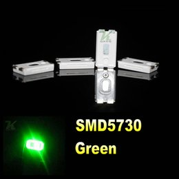 4000PCS reel 0.2W SMD 5730 5630 Jade green LED Lamp Diodes Ultra Bright SMD 5730 5630 SMD LED Free shipping