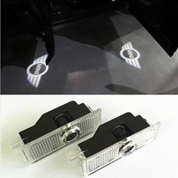 Wholesale 2pcs Mini Cooper R36 R56 R57 COOL LED logo door light ghost shadow laser projetor light