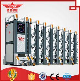 Wholesale automatic sensor system aluminum sliding gates exterior design L1519