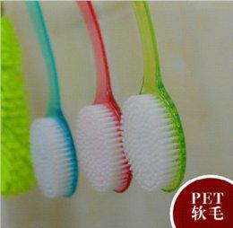 Wholesale Shower Back Brush Long Handled Body Bath Scrubber Massager New massage tape massage brush massage calf