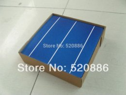 Wholesale 10 W V A Grade MM PV Poly Polycrystalline Silicon Solar Cell x6 For DIY Solar Panel