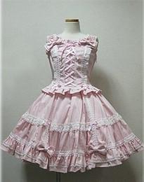 (LLT034) Lolita Dresses Short Sleeveless Sweet Lolita Short Dress Ball Gown Fancy Prom Dress Halloween Party Masquerade Costume