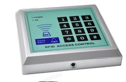 Rfid clave cerraduras de las puertas en venta-Seguridad RFID Proximidad Entrada Cerradura de puerta Sistema de control de acceso 500 usuarios +10 teclas Soporte 250 usuarios estándar