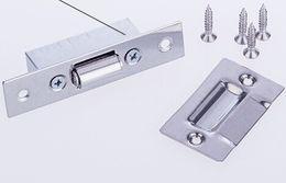 Stainless steel door furniture hardware fittings bead KTV dedicated touch bead wooden door DingZhu invisible a secret door
