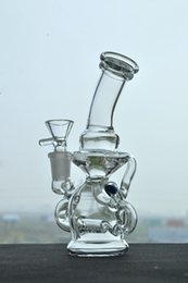 Wholesale Smoking Glass Bongs Inline Complex Design Hookahs bongs Hybrid Lucency Bongs Oil Rig Bongs New Arrival