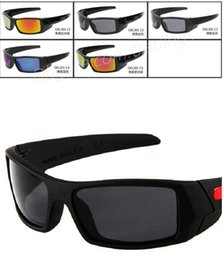 Wholesale HOT SELL New Color For Men s Sunglass Outdoor Sport gas can sunglasses Google Glasses mix color