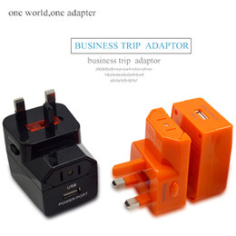Wholesale 5V mah Universal adapter EU US UK AU Plug USB Wall Charger AC Best Power Travel adapter for iphone Samsung Electronic Cigarettes
