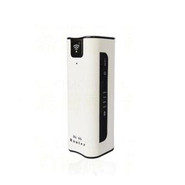 Wholesale 3G WiFi Router with SIM Card Slot Travel Wireless Router