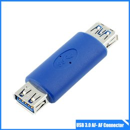 Wholesale USB Type A Female to Female Super Speed Coupler Connector Extension Cable Adapter for Acer Dell Sumsung and Apple Computer