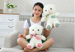 90 cm teddy bear plush toys wedding dolls press hold bear doll doll pillow birthday girl free shipping