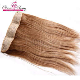 (Color #18#22#Burgundy)2016 New Arrival Flip On Hair Extension Cheap Brazilian Peruvian Malaysian Indian Straight HairPieces Remy Human Hair