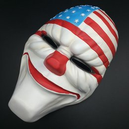 Wholesale Party Masks Halloween Boutique Payday2 Theme Collector s Edition Game Harvest Day Series Of High end Resin Mask