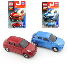 Wholesale Cheap Quality Toys - Quality Tomy mini tomica baby Nissan Juke diecast auto motor plastic models cars toys loose durable play cheap children for kids