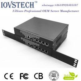 Wholesale Desktop Rack gigabit ethernet with J1900 processor gb ram gb msata ssd bypass Soft Router Firewall VOIP Netwotk Security Server