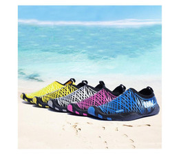 Wholesale Men s Breathable Mesh Waterproof Slip On Quick Drying Aqua Water Shoes