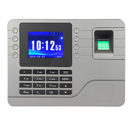 Wholesale Self Learning Easy To Operate Without Software Fingerprint Attendance Machine F6115H