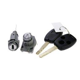 Wholesale Original Honda Whole CITY Locks Cylinders Set With Keys applied directly to Honda Lock change directly Auto Tools Parts