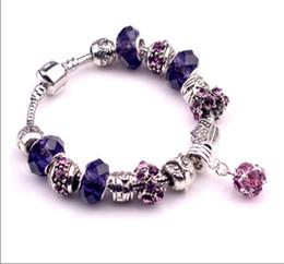 Free shopping 1pc pandora Charms Bracelet with beads Fit Original Pandora Charms Bracelet Jewelry DIY Bracelet