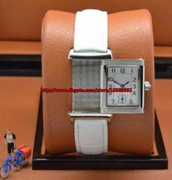 2018 Luxurious business fashion classic precision imported quartz waterproof run seconds flip fancy Leather Ladies Watch